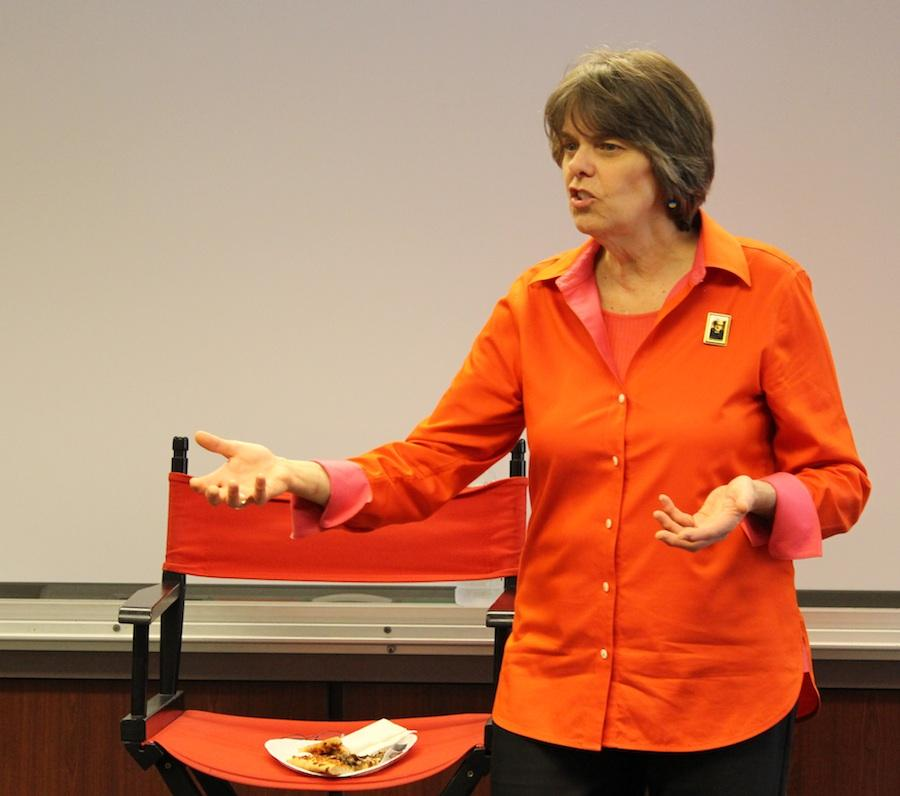 Mary Beth Tinker, champion of the freedom of speech visits Carlsbad High on a nation wide tour to promote awareness of student press law for high schoolers across the country.  At only age seventeen, Tinker won a supreme court case when her school district in Des Moines tried to ban her from wearing black