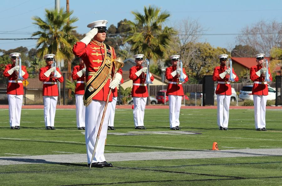 The United States Marine Drum and Bugle Corps as well as the Silent Drill Platoon and Color Guard visited CHS for a spectacular performance.  CHS is one of the few, lucky schools that are able to witness such a performance as they travel around the country.