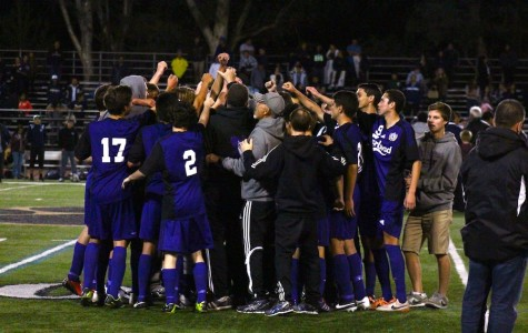 Carlsbad's varsity boy's soccer team celebrates a win against Birmingham in the CIF State semi-finals, allowing them to advance to the State Finals on Saturday. The Lancers will play Loyola High School, who maintains a perfect record of 29-0 for their season. Come support the Lancers at Warren High School in Downey on Saturday as they fight for the state championship title.