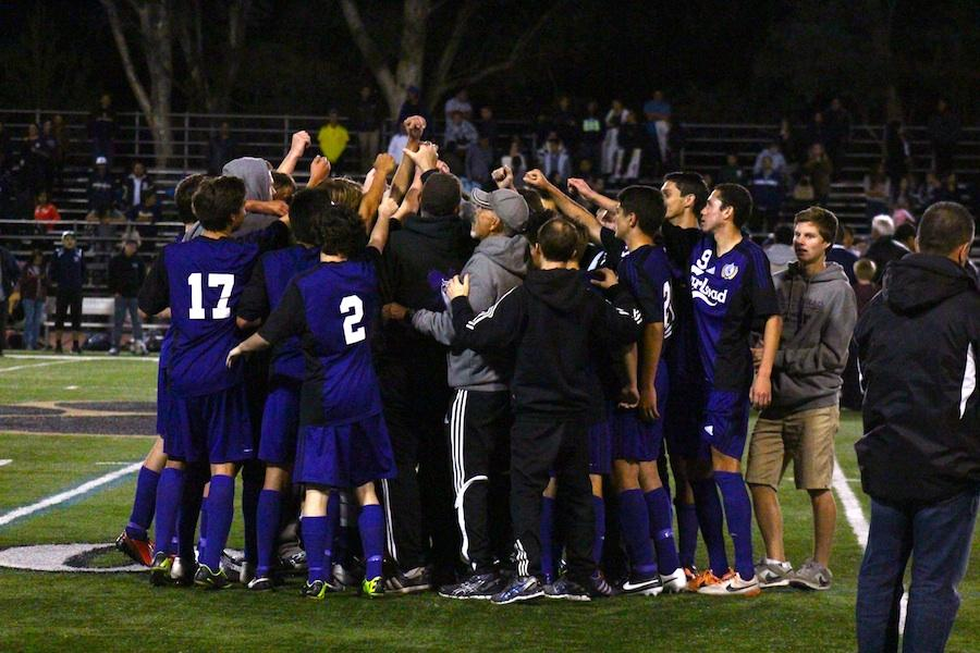 Carlsbad%27s+varsity+boy%27s+soccer+team+celebrates+a+win+against+Birmingham+in+the+CIF+State+semi-finals%2C+allowing+them+to+advance+to+the+State+Finals+on+Saturday.+The+Lancers+will+play+Loyola+High+School%2C+who+maintains+a+perfect+record+of+29-0+for+their+season.+Come+support+the+Lancers+at+Warren+High+School+in+Downey+on+Saturday+as+they+fight+for+the+state+championship+title.
