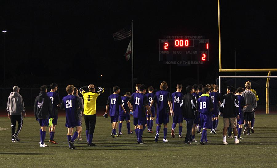 The team suffered a loss after a Loyola goal in the last three minutes of the game. Despite their best efforts the Lancers ended the game one goal short of a state victory.