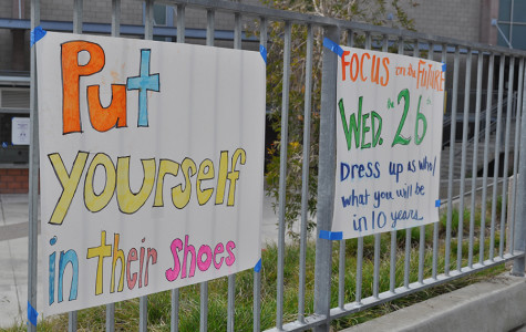 Last week, students were encouraged to participate in Yellow Ribbon Spirit Week. The spirit days, such as