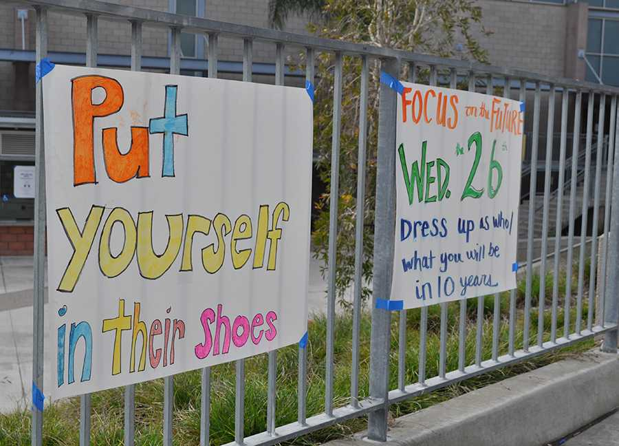 Last+week%2C+students+were+encouraged+to+participate+in+Yellow+Ribbon+Spirit+Week.+The+spirit+days%2C+such+as+%22put+yourself+in+their+shoes%22%2C+promote+anti-bullying+and+suicide+prevention+awareness.