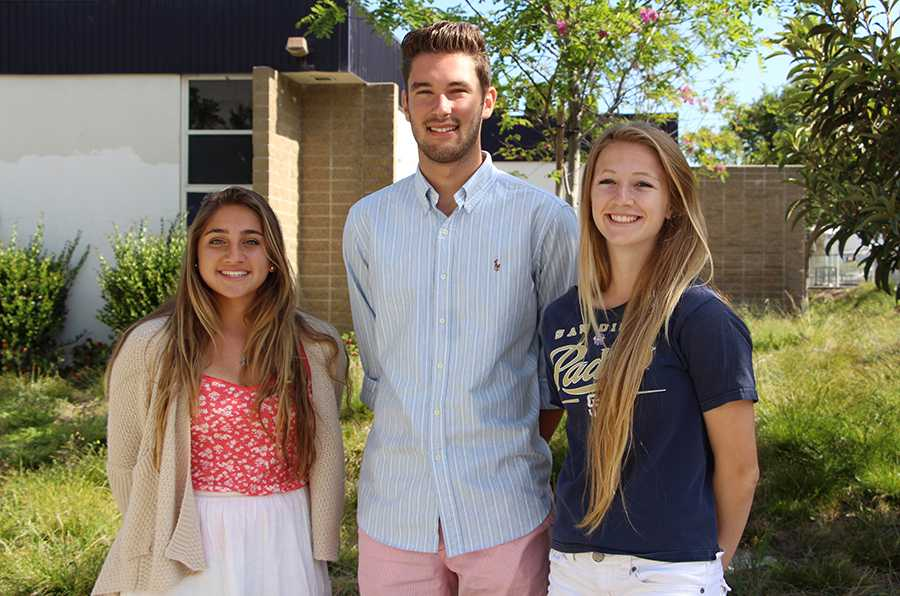Sophomore class president Alexis Mertz, junior class president Kyra Badiner, and senior class president Anthony DeRose are planning events for next year in order to make each class feel special.