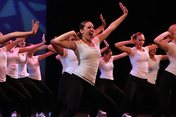 Xcalibur performs a hip hop routine in last semesters Lancer Dancer Showcase. During Dance Xtreme, the team and other dance classes perform similar numbers in various styles.