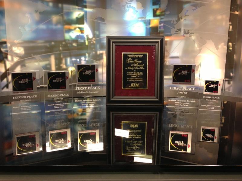 CHSTV+showcases+all+awards+won+at+STN.