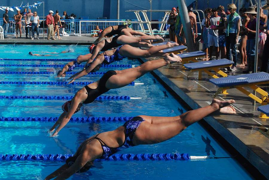 Swim went against Fallbrook on Thursday 2/24. Their next meet will be Thurs. May 1 at The Wave.