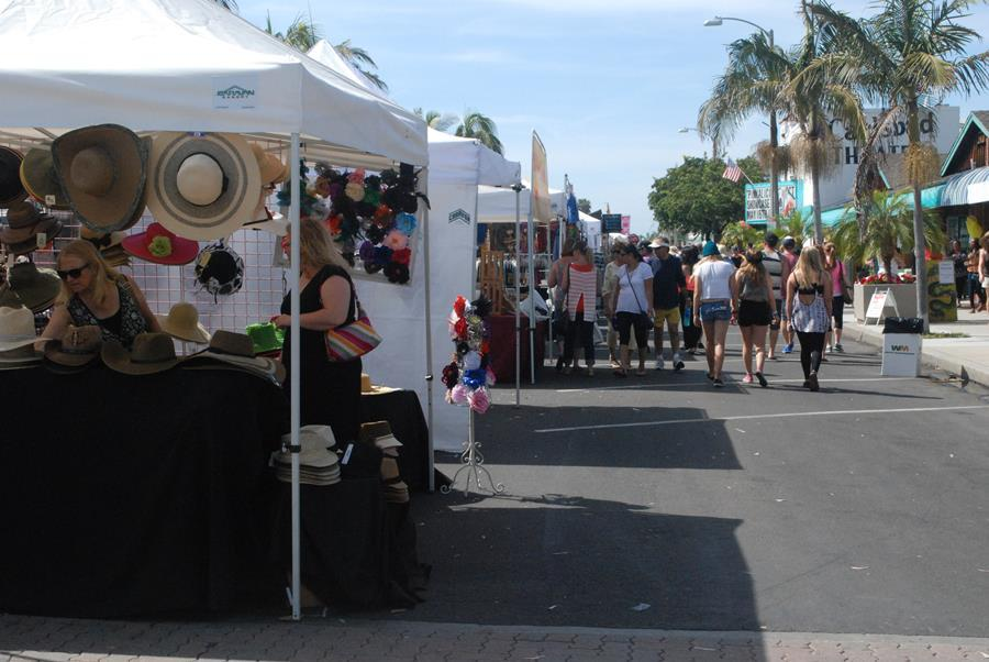 The Carlsbad Street Fair was  Sunday May 2. The next one will be November2.