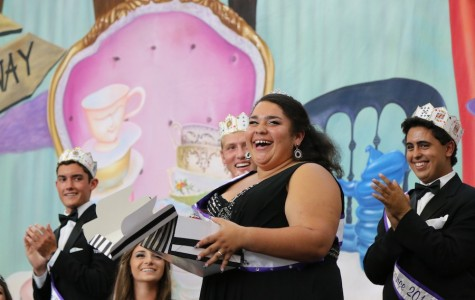 Senior Sierra Gonzalez reveals her elated surprise at winning this year's homecoming queen.  Sierra also sang at the Lancer Day assembly alongside Prince Jonah Ibrahim and Antoinette Ancrum.