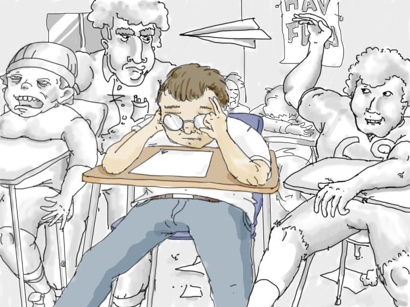 How did Honor Roll Harry get stuck in Algebra 1?