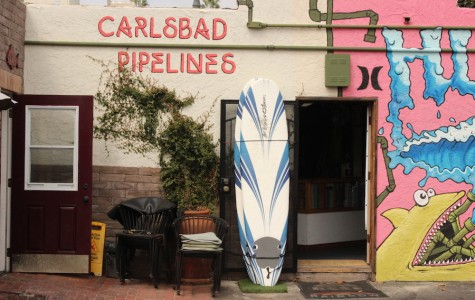 Carlsbad Pipelines shop on Carlsbad Boulevard.