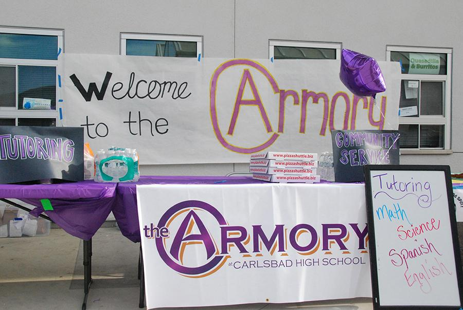 The Armory  kicked off its opening day on Oct 6 after school.  Free tutoring is available to students  after school in room 7106.