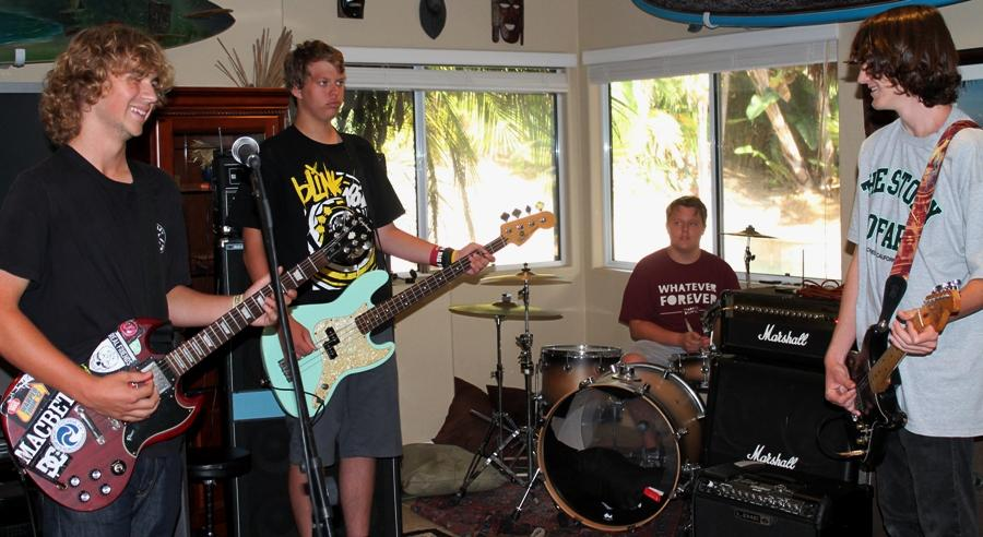 Outlook is a local up and coming band. With a new drummer they changed their name from Occupancy 64 to the current name Outlook.