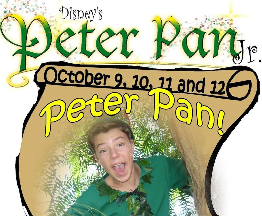 Junior Spencer Skelly played Peter Pan in the Moonlight Ampitheaters production of Disney's Peter Pan Junior on Oct. 9,10,11, and 12.  Skelly put in many hours of rehearsals and his hard work paid off.