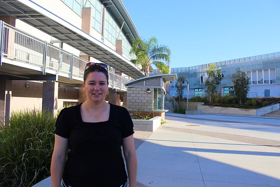 Mrs. Waters is the new Athletic Director and has many changes planned for the athletic programs at Carlsbad High School. Waters balances coaching the varsity women's basketball team and being Athletic Director.