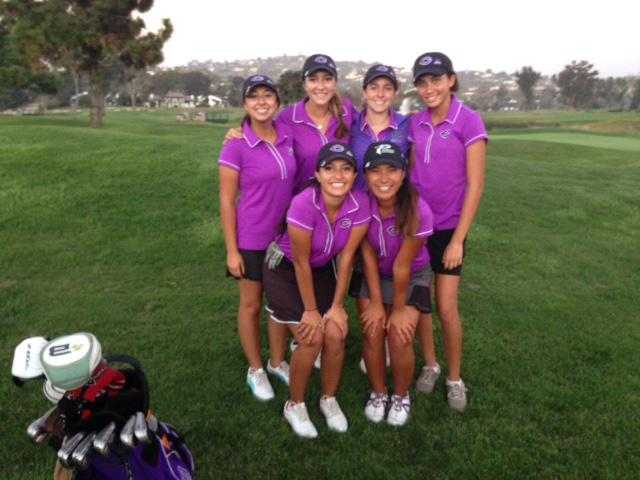 Girls+varsity++golf+placed+5th+in+CIFs+this+year.+The+girls+team++won+league+as+well.