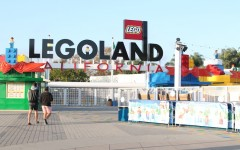 For the holiday season Legoland offers Snow Days. Snow Days bring fake now and ice skating to Carlsbad.