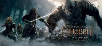 The Hobbit: Battles of Five Armies premiered Dec.17,2014. This is the third movie in the series