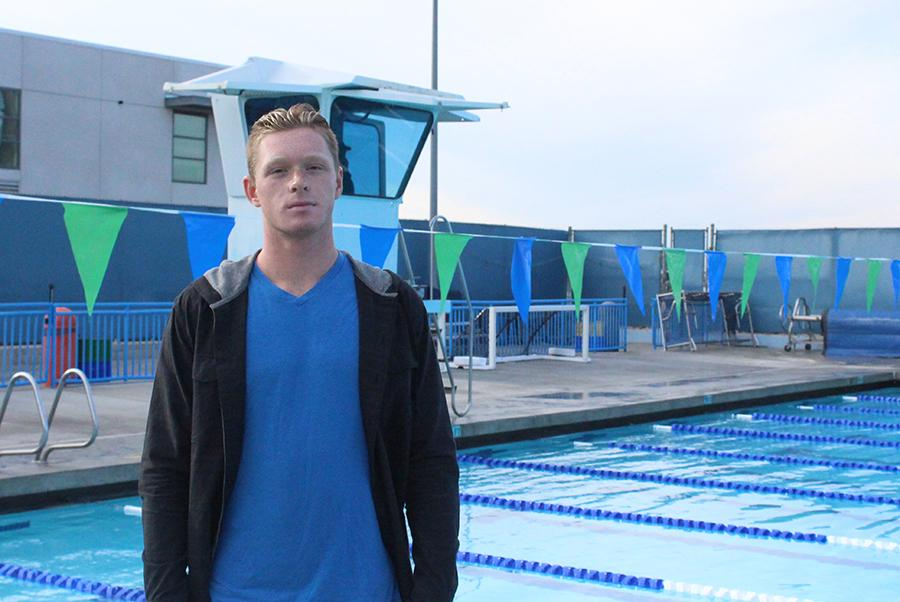 Noah Martin is a junior on the CIF champion varsity waterpolo team.