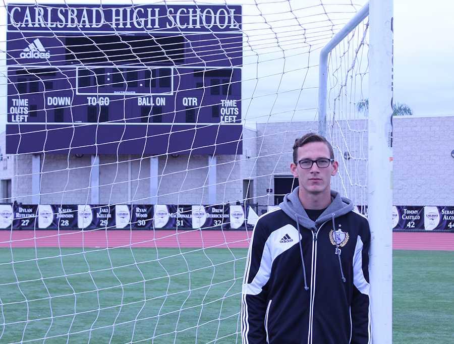 Ryan+Brent+is+a+senior+on+varsity+soccer.