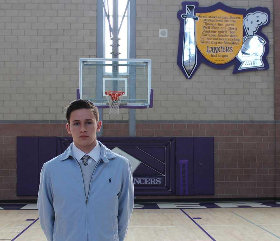 Lucas is a junior on varsity basketball at Carlsbad High.