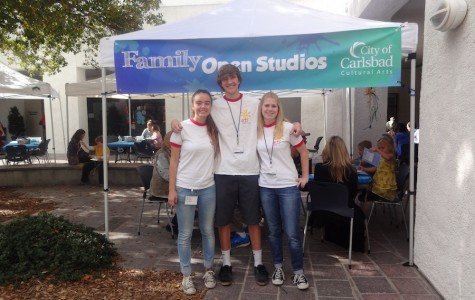 The Carlsbad Cultural Arts Office looks for high school students to volunteer and help with their interactive programs. Some of these programs include the Family Open Studios, Concerts in the Park, Club Pelican and more.