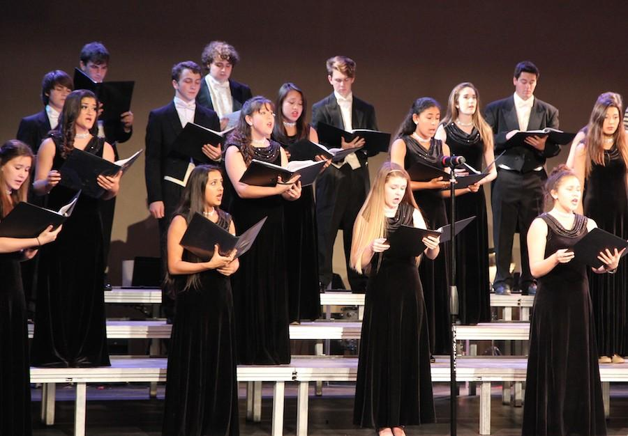 Sound Express performs Sweeney Todd during their A Night With the Stars on Broadway concert.  Several hours of time and effort were put into rehearsal to ensure the best performance possible.