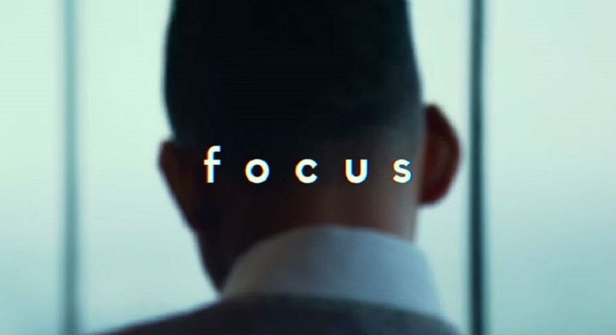 Focus is a comedy, crime and drama film starring actor Will Smith and actress Margot Robbie. It premiered Feb. 27.