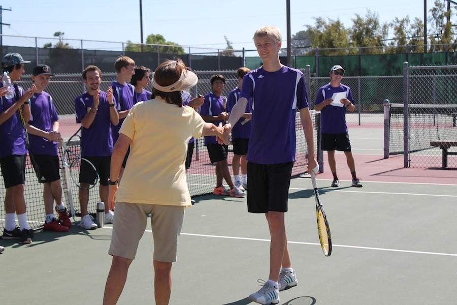As boys tennis season wraps up, they prepare to head into CIFs.