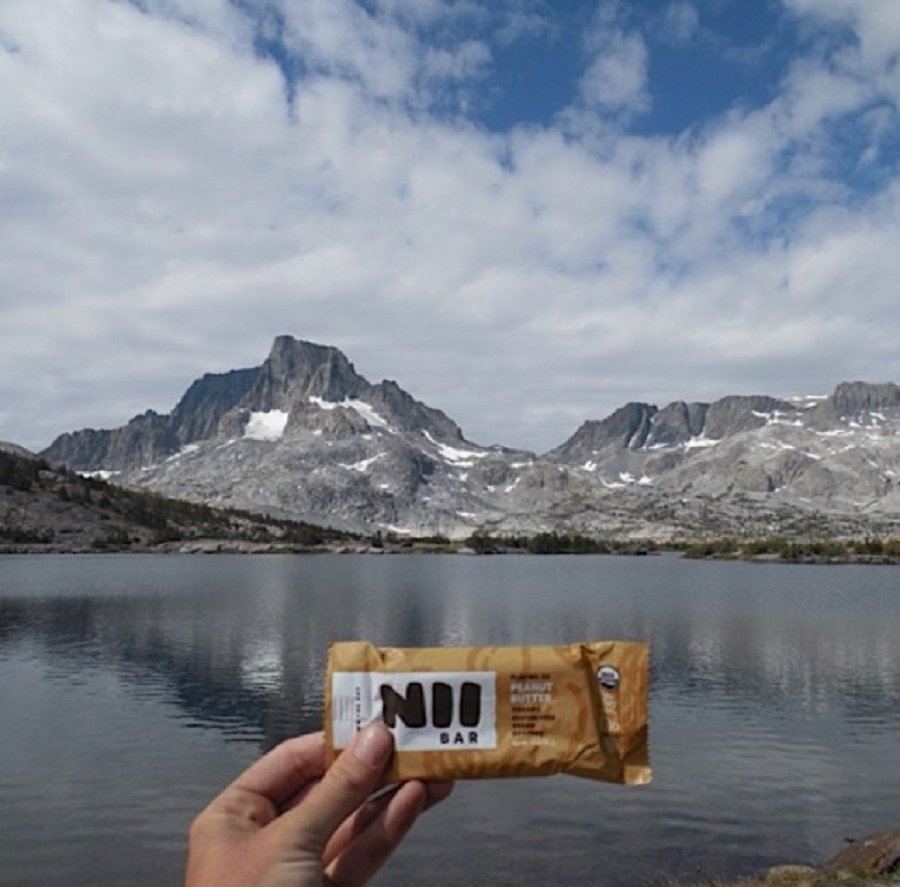 A Nii Bar is an all organic protein bar. Many local Carlsbad shops sell and support these bars.