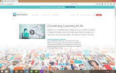 Naviance is a website that helps students with helping to choose a school and what the student may be good at in the future.