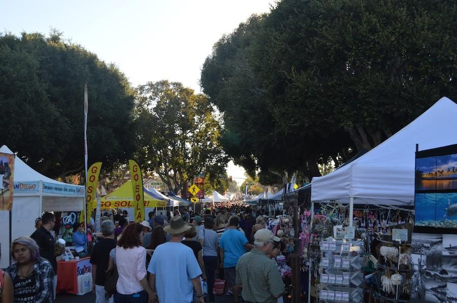 Carlsbad Village hosted the Biannual Carlsbad Street Faire on Sunday November 1st. This is the 40th year Carlsbad is hosting the street faire.