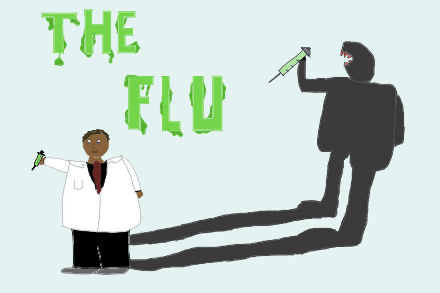 Get your flu shot, or get shot by the flu