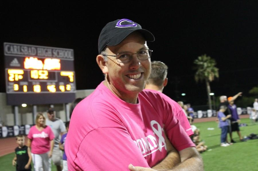 Mr. Riccitelli has become Carlsbad's new ASB director. Many students have expressed their love and support for his new ideas for the school.