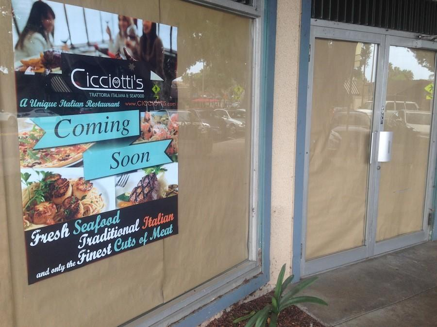 After 28 years of service The Grand Deli has closed. Cicciotti's Trattoria Italiana and Seafood restaurant will be moving in to the building.