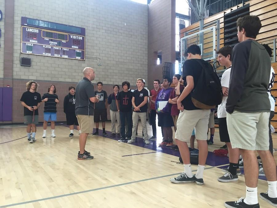 Carlsbad Lacrosse had their annual fall meeting with Coach Dave Demuth to discuss preseason workouts and clubs teams. The Lancers had a tough season last year, but are working hard to prepare for the upcoming spring season.