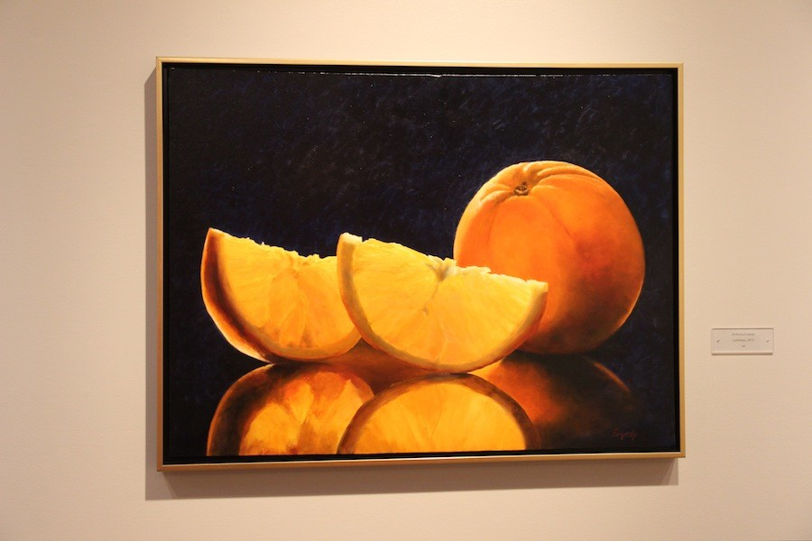 Luminous by Anthony Enyedy is one of the many beautiful pieces on display at the Cannon Art Gallery. This particular piece was created in 2013 using oils.