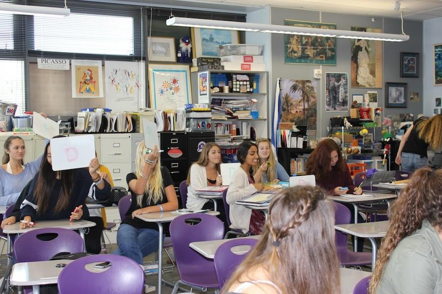 This week in French club, members play fun trivia games while enjoying some French delicacies. They meet every third Tuesday of each Monday in room 6202.