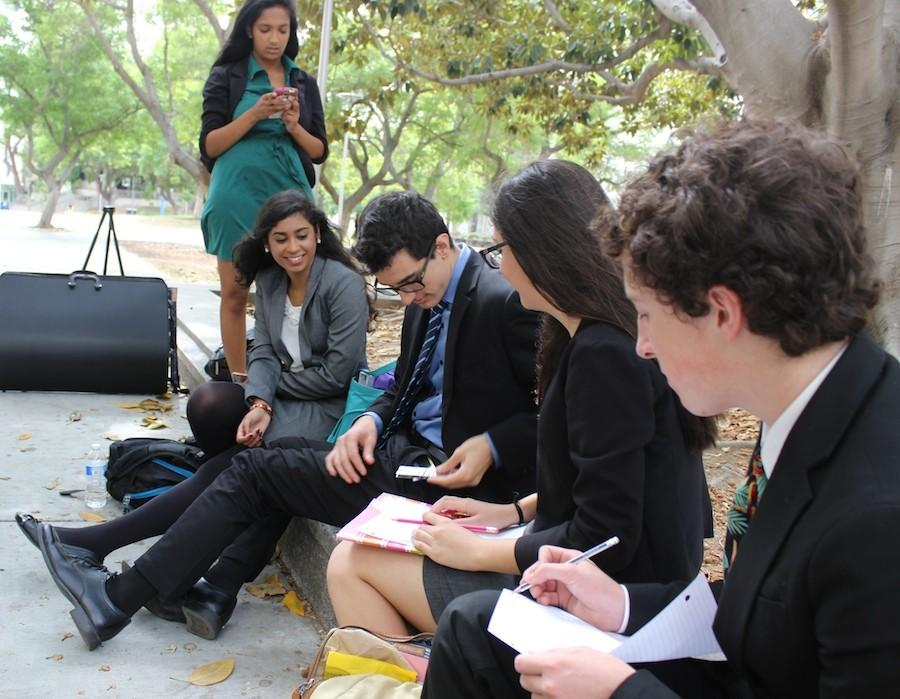 Carlsbad Highs Speech and Debate team competed at Cal State University Fullertons Tournament on Oct. 16-18. They received various awards in Debate, Congress, and Individual Events.