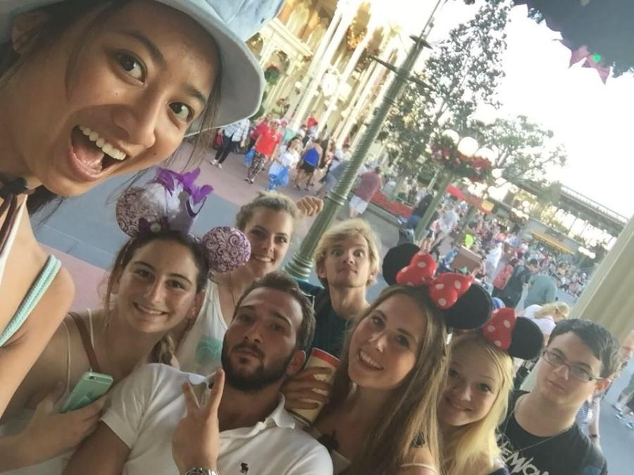 Students+from+Carlsbad+High+School%27s+journalism+program+take+a+selfie+on+Main+Street+at+Walt+Disney+World%27s+Magic+Kingdom+on+Nov.+12.++The+students+visited+The+Magic+Kingdom+as+part+of+their+trip+to+the+2015+Fall+JEA%2FNSPA+High+School+Journalism+Convention+held+at+the+Dolphin+Hotel+in+Orlando%2C+Fla.
