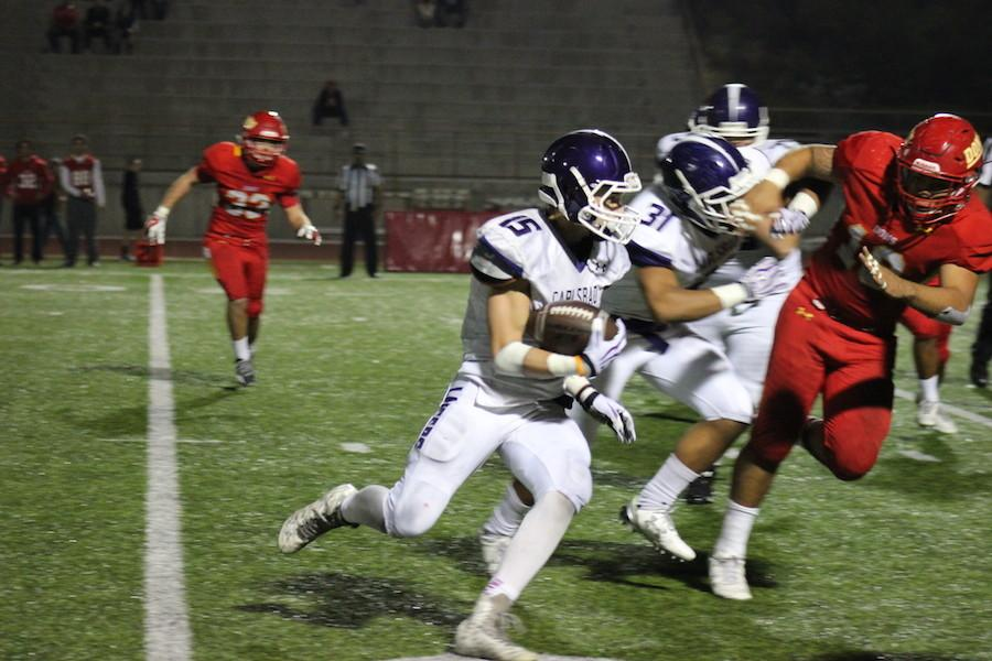 On Friday November20th Lancers took on the Dons for the first round of playoffs. In the last minute Cathedral scored a 3-pt. kick ending the game 24-21 Dons.
