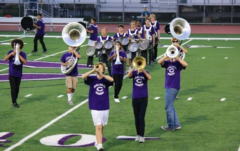 On November 20th, band team performs on the football field. Though they could not perform due to the away game, they still show the hard work and dedication they have put into band team. They performed at both 4:45pm and 6pm.