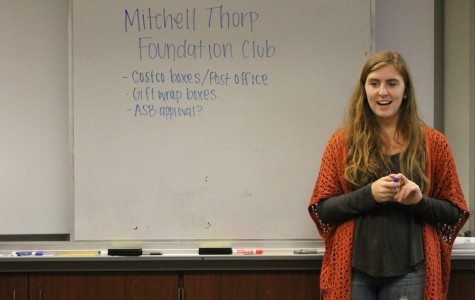 Mitchell Thorp Club contributes to a community cause