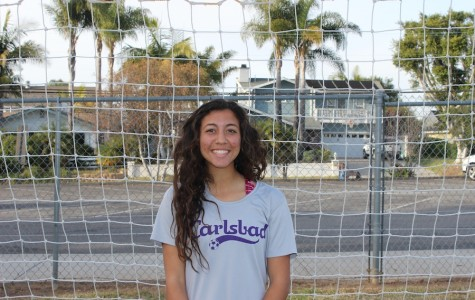 Senior, Yasmin Ahooja, has been on the Carlsbad varsity women's soccer team for four years now. She will attend the University of Michigan next year to play division one soccer.
