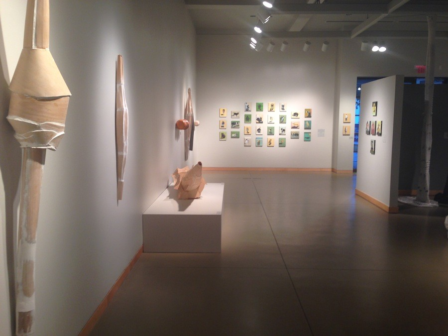 The William D. Cannon art gallery goes from Nov. 22 through Jan. 31. The work features art from five different artists.