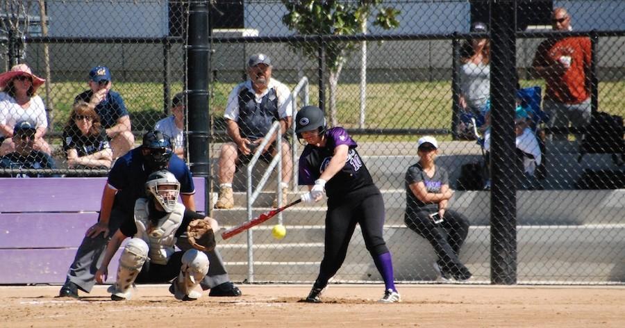 Sat. Feb. 27 Carlsbads Varsity womens softball played in their annual alumni game.