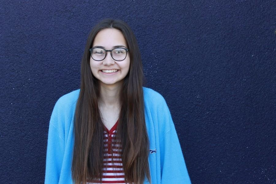 Ashley Lang is a senior at Carlsbad High. She does hurdles for track, has been in ASB for two years and this year is in academic league.  Lang has found ways to connect with both school and friends.