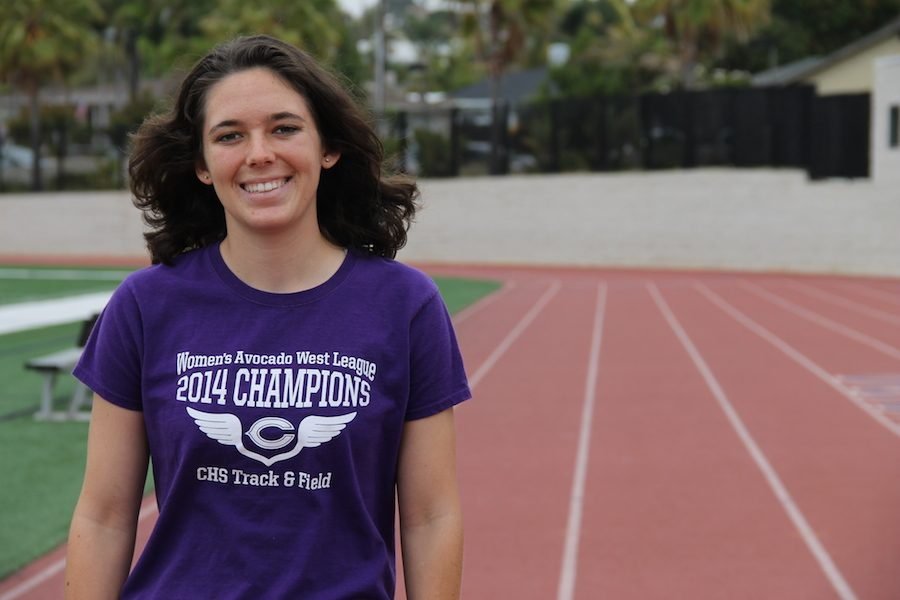Sam Schneider (11) runs distance for Carlsbad's varsity cross country and track and field team for the past three years. She has been running competitively for 6 years.