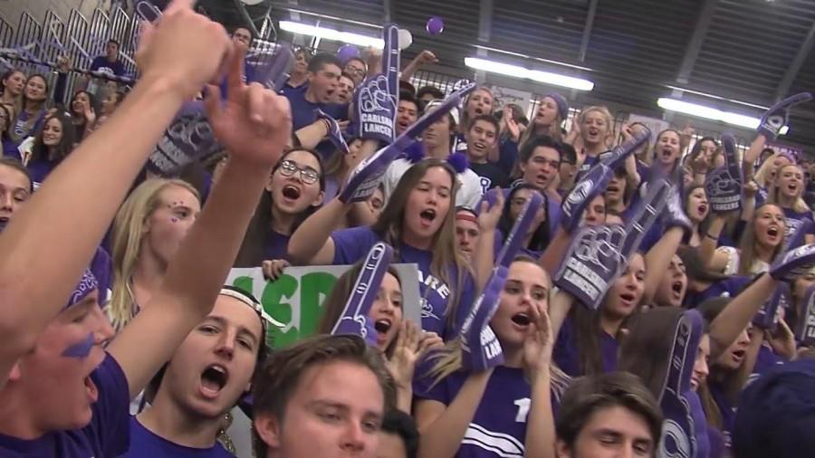 Carlsbad High School was nominated by the KUSI Prep Pigskin Report for the Battle of the Fans contest. With the help of social media and a large student body, CHS won the CIF San Diego competition.