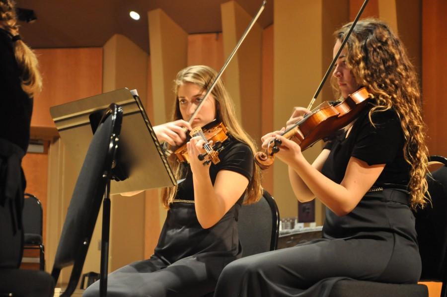Spring orchestra concert prepares students for March festival